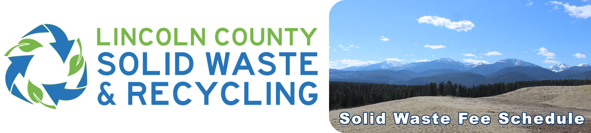 Lincoln County Montana Landfill Fee Schedule